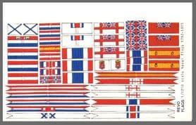 Revo Flags 1/1200 Scale Napoleonic Naval Flags 1792-1815