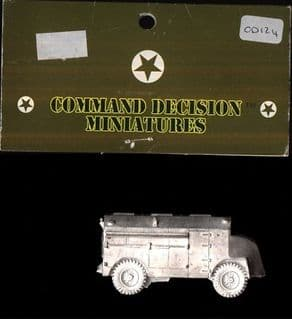 Skytrex 15mm CD124 WWII British Armoured Command Lorry