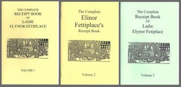 Stuart Press: The Complete Receipt Book of Ladie Elynor Fetiplace (3 books)
