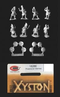 Xyston 15mm Ancients 18286 Phoenician Marines (8 figs)