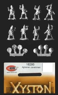 Xyston 15mm Ancients 18295 Agrianian Javelinmen (8 figs)