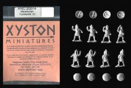 Xyston 15mm Ancients ANC20074 Macedonian Hypaspists (8 figs)