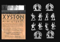 Xyston 15mm Ancients ANC20084 Hellenistic Thracian Warriors (8 figs)