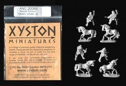 Xyston 15mm Ancients ANC20086 Persian Colonist Light Cavalry (4 mtd figs)