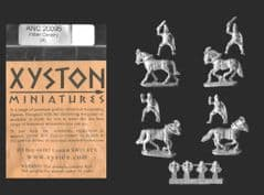 Xyston 15mm Ancients ANC20095 Indian Cavalry (4 mtd figs)