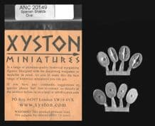 Xyston 15mm Ancients ANC20149 Spanish Shields Oval (8)