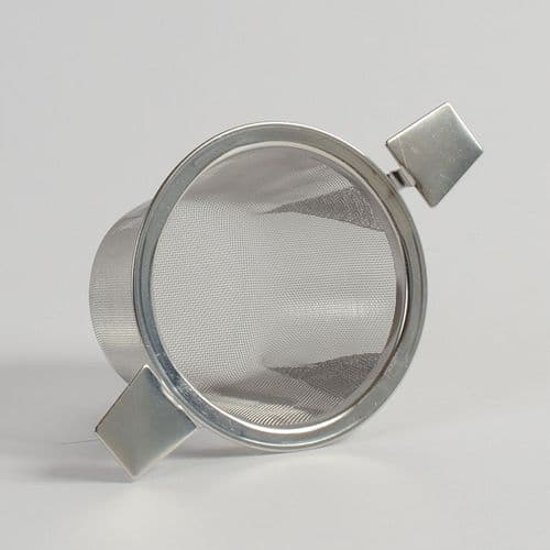 image of Two-armed steel strainer