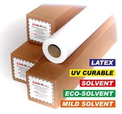 White PVC Film with Removable Dot Adhesive 100 Micron