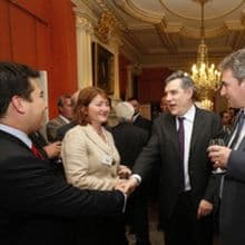 BUILDING BRITAIN'S FUTURE - MARC IS INVITED TO NR. 10 DOWNING STREET - 22.06.2009