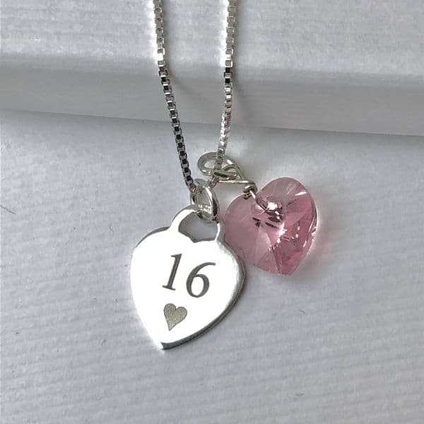 16th birthday personalised gift - FREE ENGRAVING