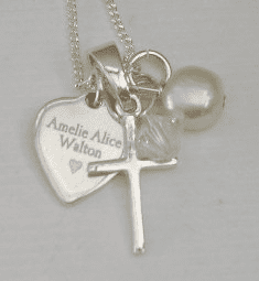 First Holy Communion jewellery gift - FREE ENGRAVING