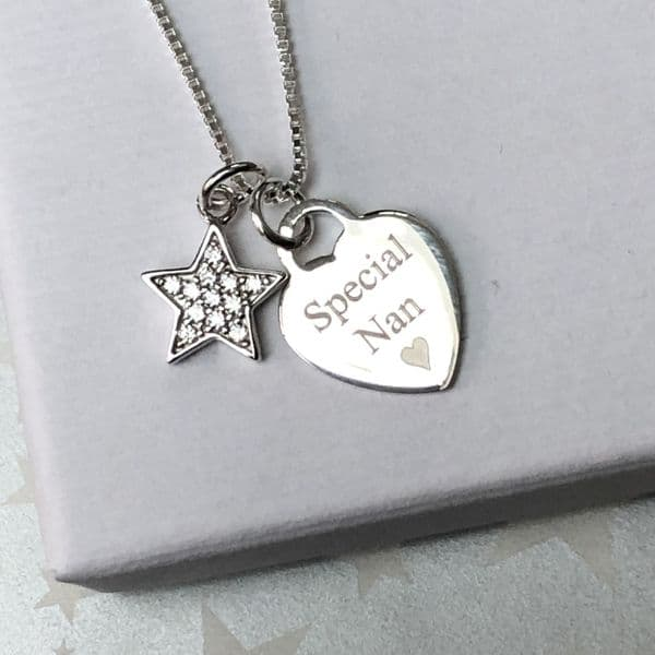 Gift for a special nan / grandma - FREE ENGRAVING