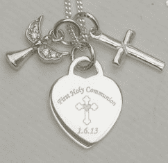 Keepsake First Holy Communion gift for a granddaughter- FREE ENGRAVING
