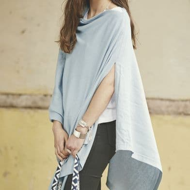 SPECIAL OFFER 100% cotton poncho - various colours