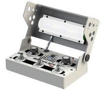 StompLight® DMX Professional Lighting Effect Pedal - White - last available!