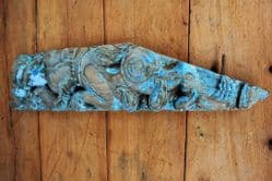 Antique Teak Wall Bracket depicting an ELephant