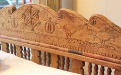 Antique Thakat Day Bed, Rajasthan