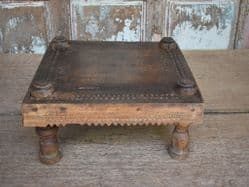 Antique Tribal Stool, Madya Pradesh <b>SOLD<b>