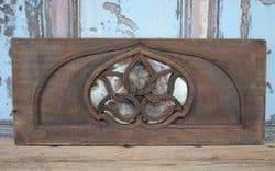 Architectural Panel with Lotus Flower & Antique Mirror <b>SOLD<b>