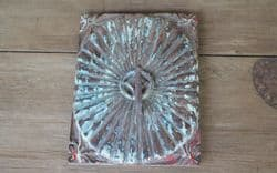 Colonial Sunburst Hook Panel with faded paint