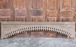 Finely Carved Teak Arch from Orissa  -<b>SOLD</b>