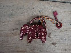 Hand Painted Elephant Padlock