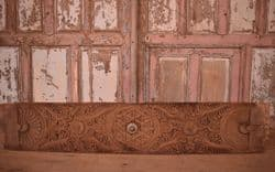 Southern Indian Temple Doorway ceiling panel antique, <b>SOLD<b>
