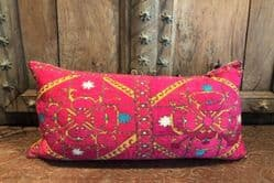 Vintage embroidered cushion from the Swat Valley