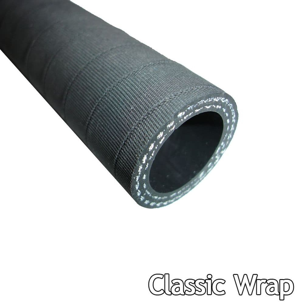 54mm Straight Silicone Hose Classic Black Finish from 10cm