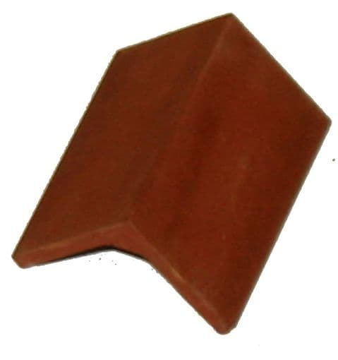 "90 deg. Ridge Tile - Traditional (32mm)1.25"" - 1/12th Scale - Dolls House"