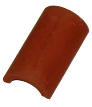 """Half Round Ridge Tile - Traditional 1.25"""" - 1/12th Scale - Dolls House"""