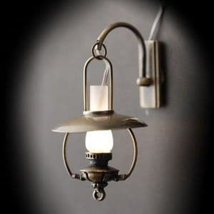Nostalgic Oil Lamp Wall Sconce