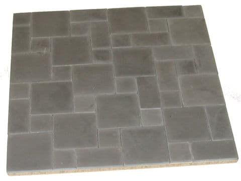 Random Paving - Grey 1/24th Scale
