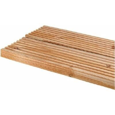 120 x 032 x 3.6MT TANALISED DECKING BOARD NATIVE