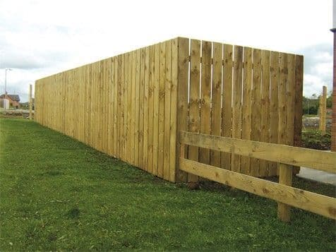 150 x 22 x 1.8MT TANALISED TIMBER FENCE BOARD