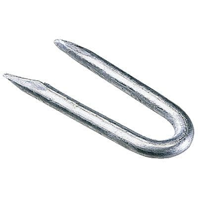 STAPLES GALVANISED 20MM (BAG 0.25kg)
