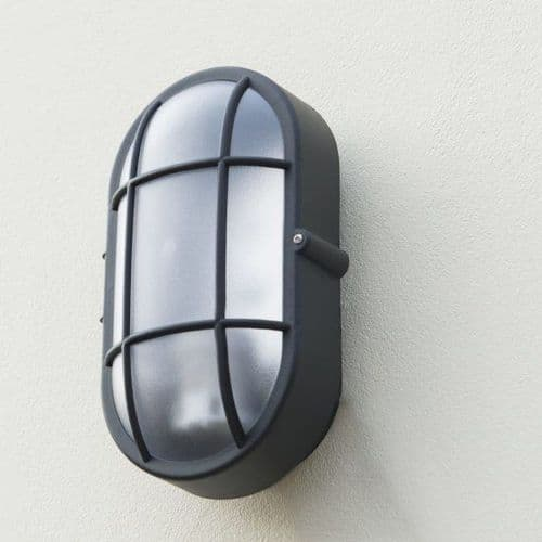 BULKHEAD WALL LIGHT CALVI OVAL E27