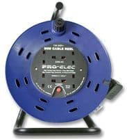 EXTENSION CABLE REEL WITH CUT OUT 50MT FPPCR50M