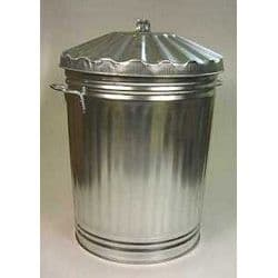 GALVANISED DUSTBIN NO85