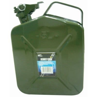 JERRY CAN METAL 5ltr  JC105