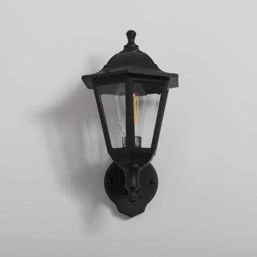 KSR 6 SIDED UP DOWN WALL LIGHT LANTERN E27