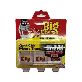 MOUSE TRAP QUICK  SET THE BIG CHEESE (PACK 3) STV147