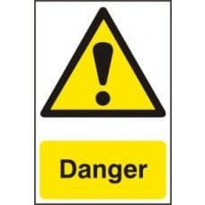SIGN DANGER 200x300MM 1301