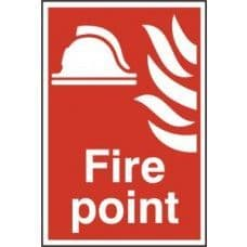 SIGN FIRE POINT 200x300MM 1451