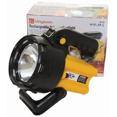 TORCH HALOGEN RECHARGEABLE SPOTLIGHT BB-RT120