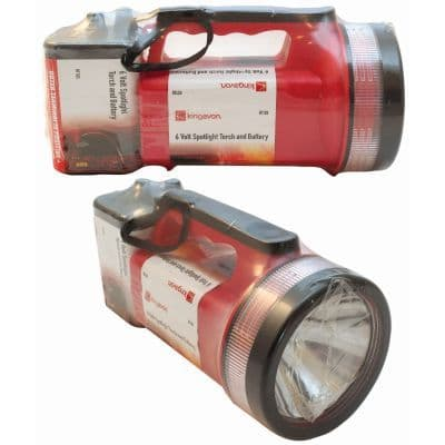 TORCH SPOTLIGHT D SIZE 6 VOLT BB-RT103