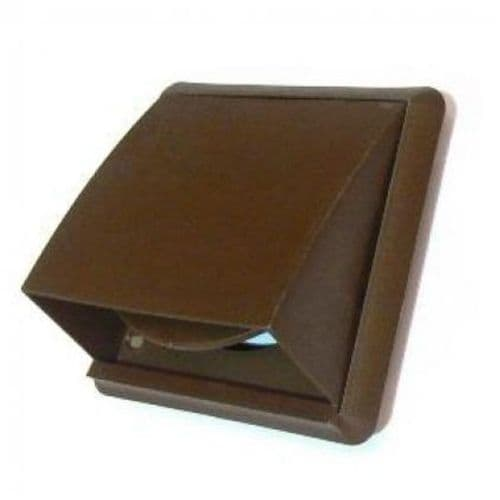 VENT HOODED BROWN 102B