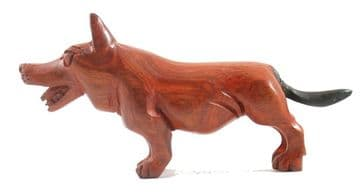 Corgi Dog Carving
