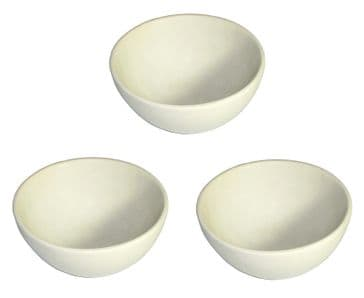 Earth-stone Salad / Cereal / Dips / Dessert Bowl 6 inch - Set of 3