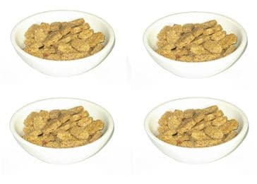 Earth-stone Salad / Cereal / Dips / Dessert Bowl 7 inch - Set of 4